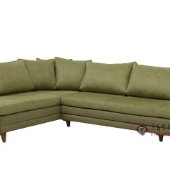 Fabric Queen Sleeper Chaise Sofa Innovation Puzzle Wood Bed Customize And Personalize Curry Sectional