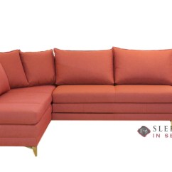 Fabric Queen Sleeper Chaise Sofa The Leather Co Dallas Customize And Personalize Curry Sectional