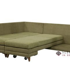 Fabric Queen Sleeper Chaise Sofa Marks And Spencer Covers Customize Personalize Curry Sectional