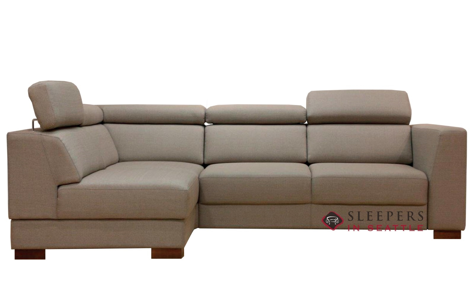 Quick Ship Halti Chaise Sectional Fabric Sofa By Luonto Fast Shipping Halti Chaise Sectional Sofa Bed Sleepersinseattle Com