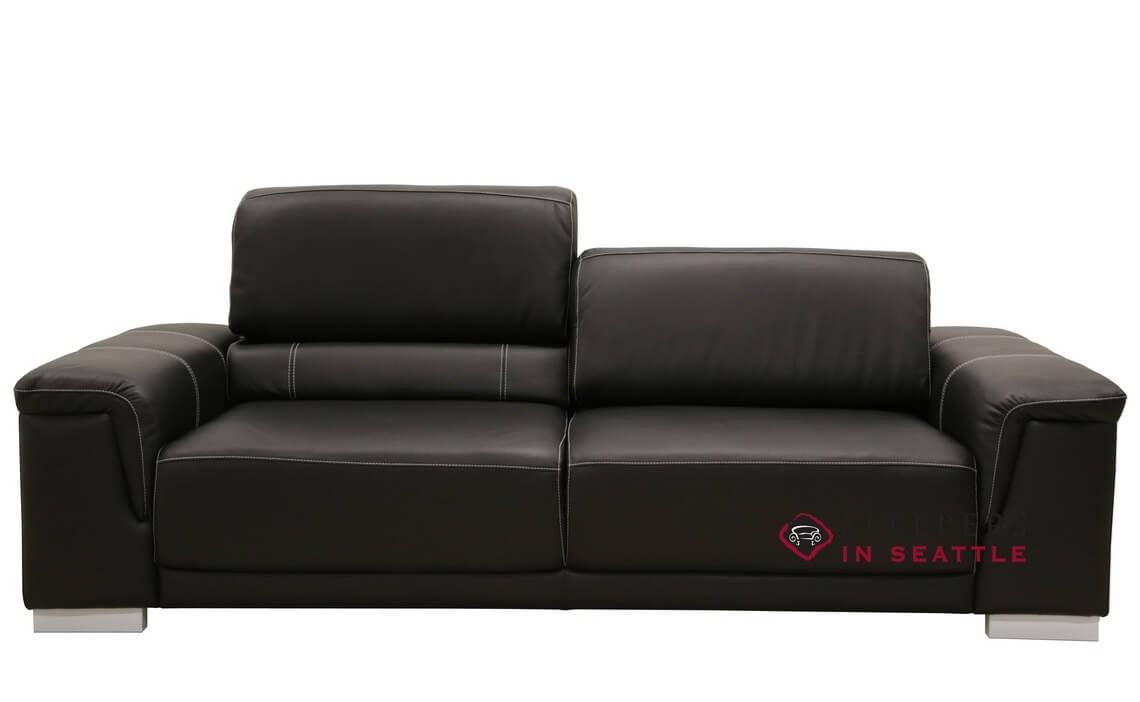 Luonto Copenhagen Queen Leather Sleeper Sofa