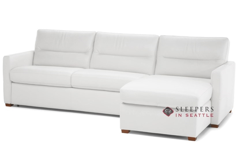 quick ship conca chaise sectional leather sofa by natuzzi fast shipping conca chaise sectional sofa bed sleepersinseattle com