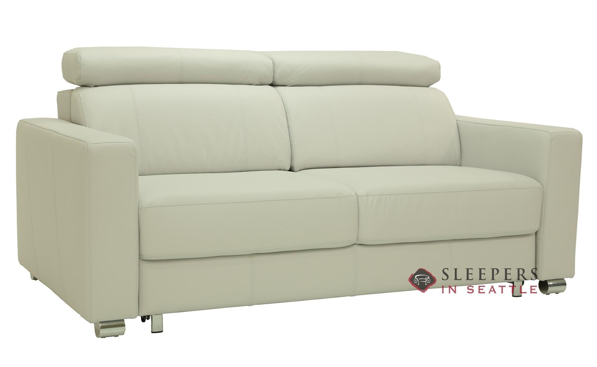 Luonto West Queen Leather Sleeper Sofa