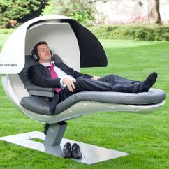 Energy Pod Chair The Durango Sleeping On Job Rise Of Nap Pods Sleep Review As For Design Metronaps Everything Has A Reason Slightly Reclined Seat Back Combined With Elevated Legs Helps Create Gravity Neutral