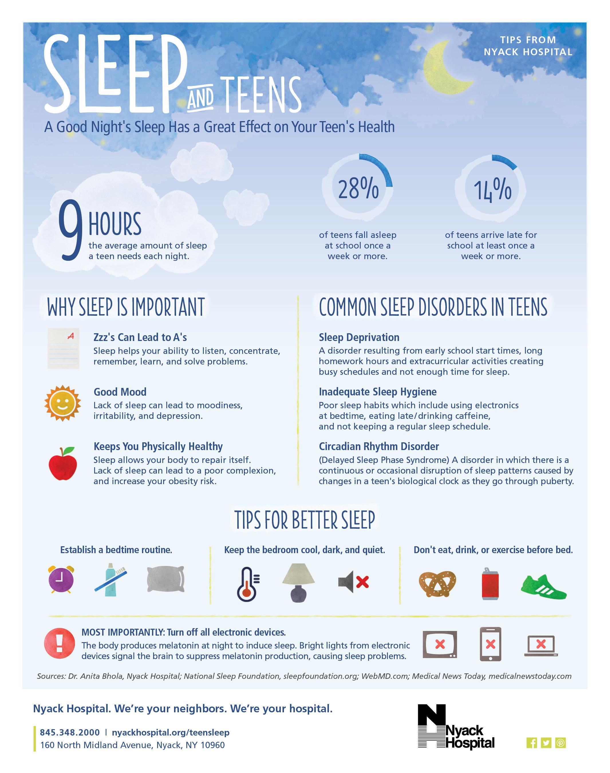 Helping Teens Get Enough Sleep