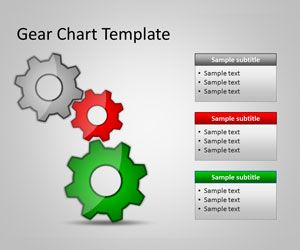 Free Gear Chart PowerPoint Template Free PowerPoint Templates