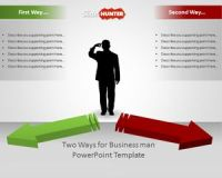 Free Two Ways Business Decision Template for PowerPoint ...