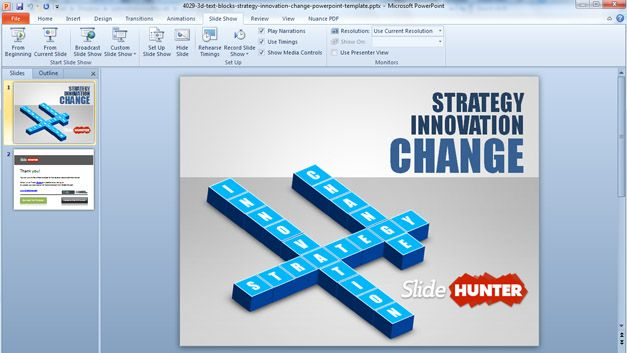 strategy powerpoint presentations