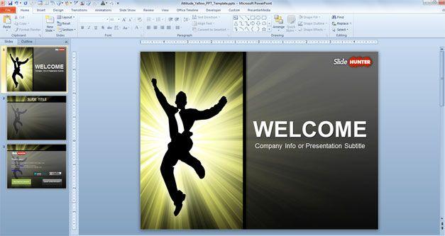 Free Attitude PowerPoint Template