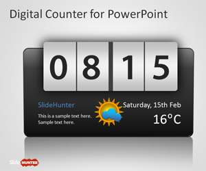 Free Counter PowerPoint Template  Free PowerPoint