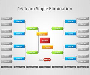 Tournament Fixture Template