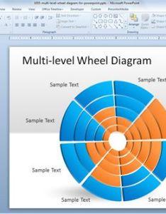 Free wheel diagram for powerpoint also multi level rh slidehunter