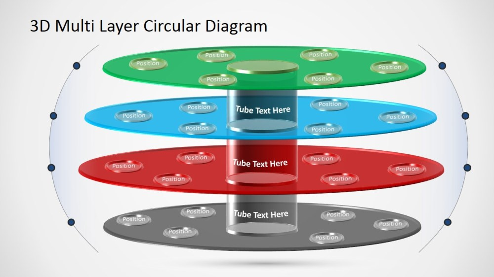 medium resolution of ppt template with circular 3d layers powerpoint diagram