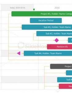 Editable gantt chart template for powerpoint also slidemodel rh