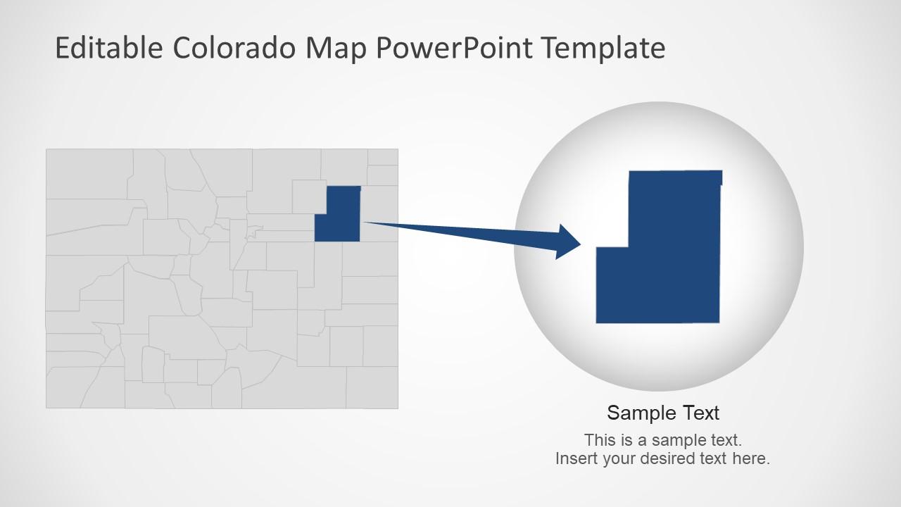 Please enter valid email address thanks! Colorado Map Of State Presentation Slidemodel