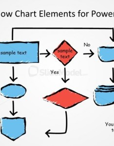 Awesome hand drawn flow chart diagram for powerpoint example also slidemodel rh