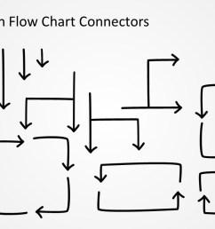 flow chart connectors design for powerpoint  [ 1280 x 720 Pixel ]