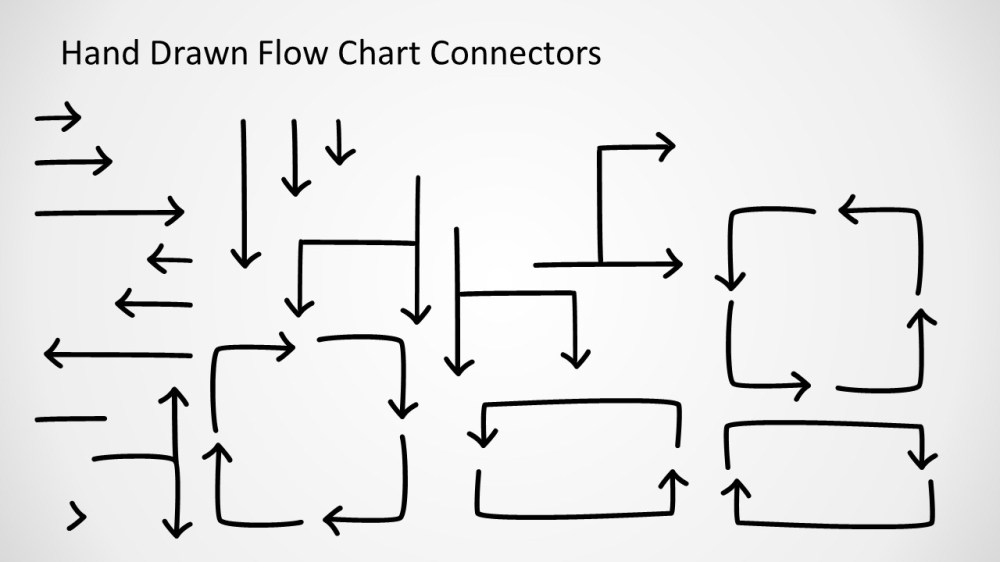 medium resolution of awesome hand drawn flow chart diagram for powerpoint flow chart connectors design for powerpoint