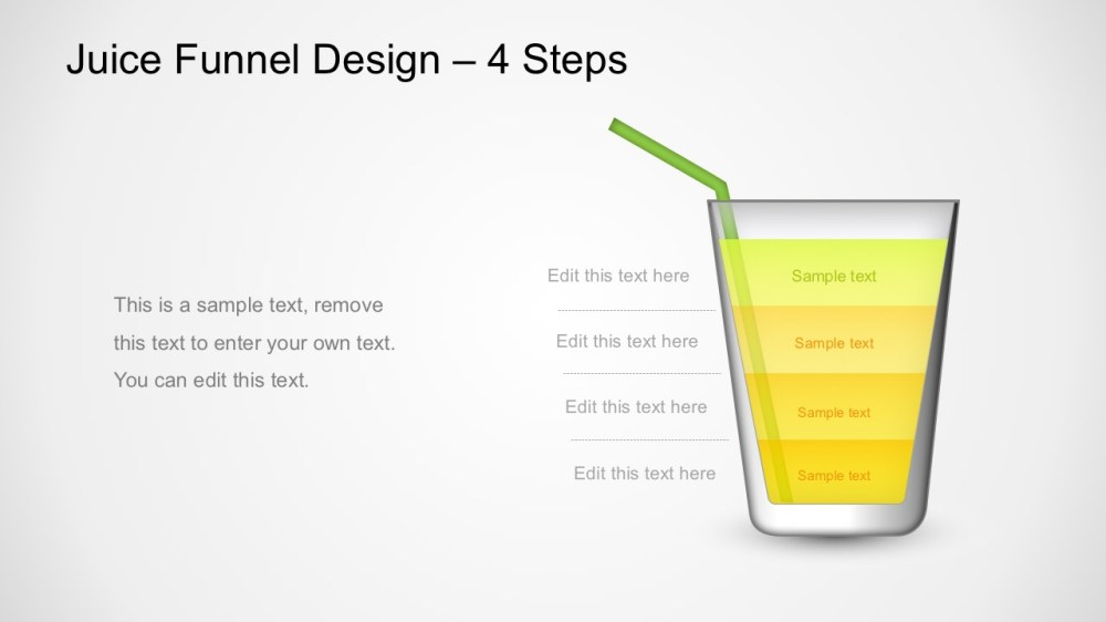 medium resolution of juice funnel design powerpoint diagram glass design funnel diagram for powerpoint