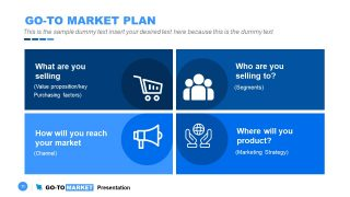 You can also check marketing plan templates. Go To Market Powerpoint Template Slidemodel