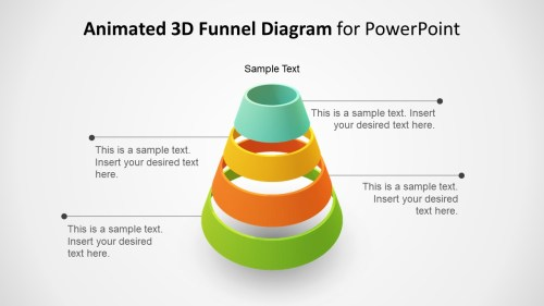 small resolution of template of funnel diagram 3d animated funnel design