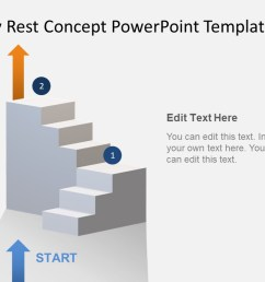 animated 3d stairway rest concept powerpoint template [ 1280 x 720 Pixel ]