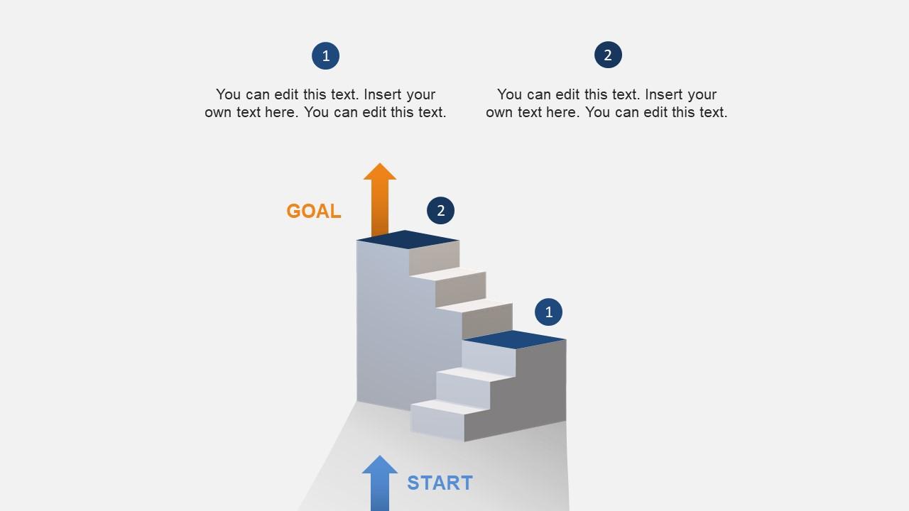 hight resolution of stairway diagram