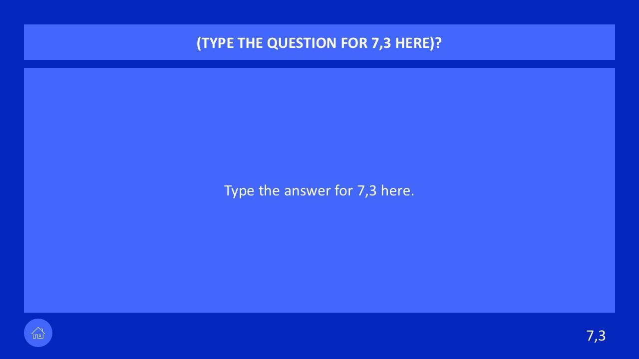 Sample Jeopardy Powerpoint Jpg 1280x720 Smartnotebook Template