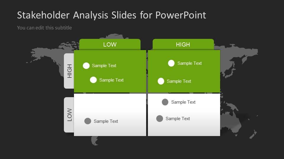 Stakeholders Analysis Slides for PowerPoint  SlideModel