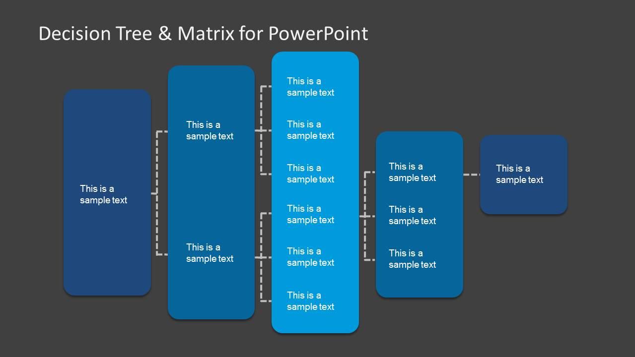 Decision Tree  Matrix Template for PowerPoint  SlideModel