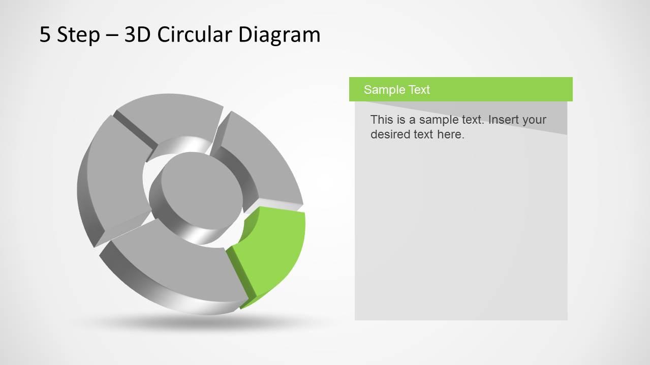 hight resolution of 3d circular diagram