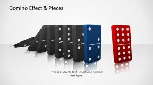 Domino Effect & Pieces Template for PowerPoint  SlideModel
