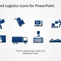 Process Flow Diagram Shapes Visual Studio 2010 Class Flat Design Shipping And Logistics Theme Powerpoint Icons - Slidemodel