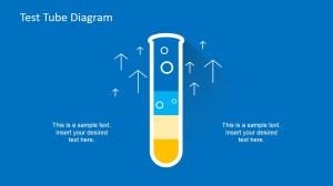Flat Test Tube Infographic PowerPoint Diagram  SlideModel