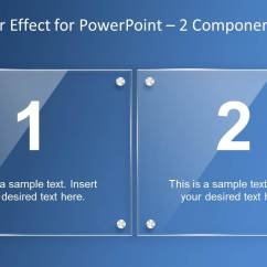 Process Flow Diagram Shapes Pourbaix Copper Glass Layer Effect Powerpoint Template - Slidemodel