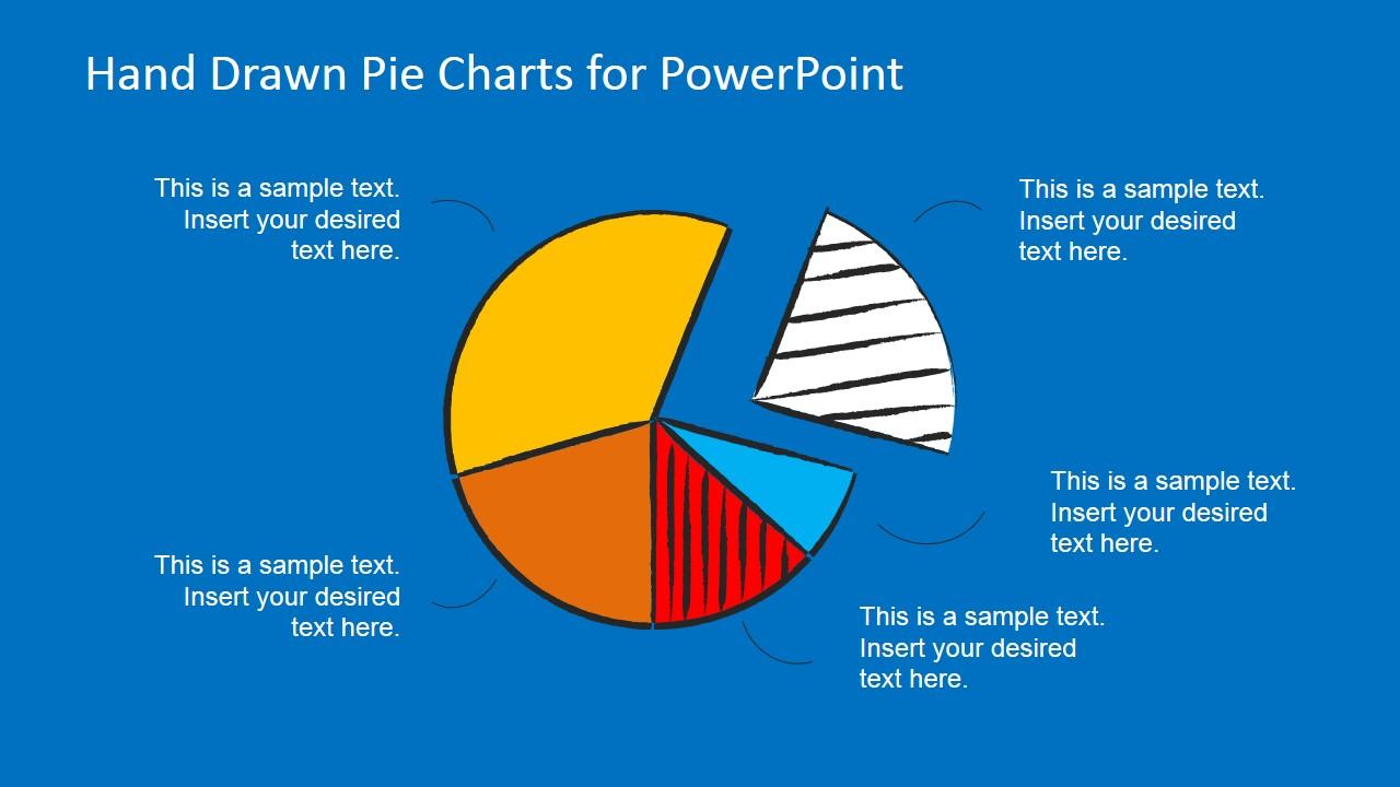 Hand Drawn Pie Chart Toolkit For Powerpoint Slidemodel