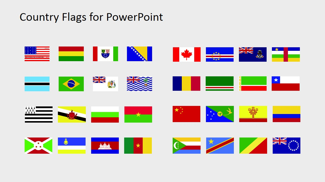 country flags clipart for