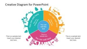 Circular Creative Diagram Template for PowerPoint  SlideModel