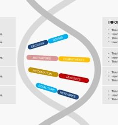 organization culture dna powerpoint templatesformal informal organization dna genetic code [ 1280 x 720 Pixel ]