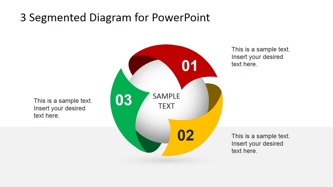 3d Star Diagram Template For Powerpoint Slidemodel