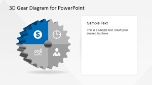 3D Gear Diagram Template for PowerPoint  SlideModel
