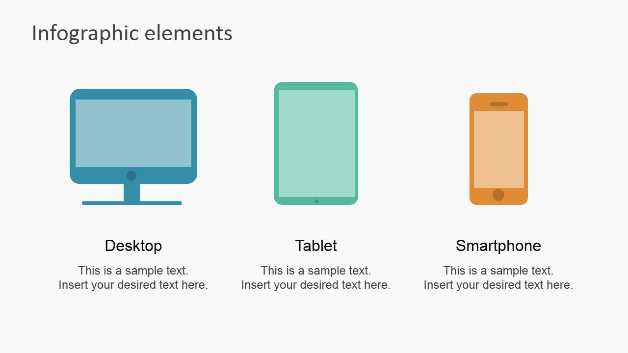 data infographic flat elements