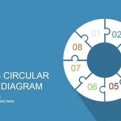 Free Circular Arrow Diagram Template Reverse Power Relay Wiring 8 Step Puzzle For Powerpoint - Slidemodel