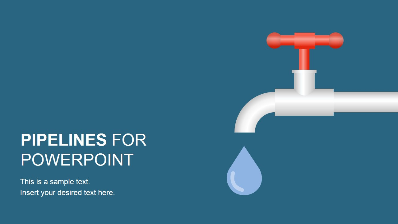 Graphic Tree Diagram Pipeline Shapes Powerpoint Template Slidemodel