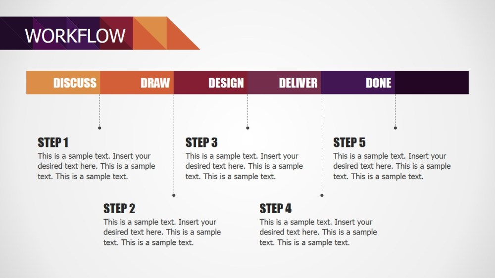 medium resolution of  deck powerpoint diagram for small business workflow