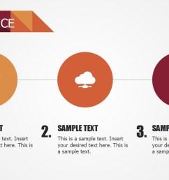 powerpoint 3 steps services diagram  [ 1280 x 720 Pixel ]