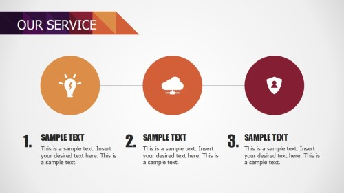 small resolution of  powerpoint 3 steps services diagram