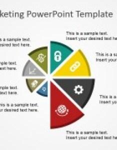 Integrated marketing communications powerpoint  pie chart spyral also template slidemodel rh