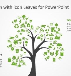 creative tree diagram with editable powerpoint icons  [ 1280 x 720 Pixel ]