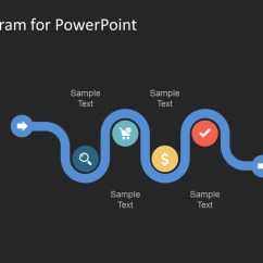 Process Flow Diagram Shapes Speakon Jack Wiring Creative Snake Powerpoint Template - Slidemodel
